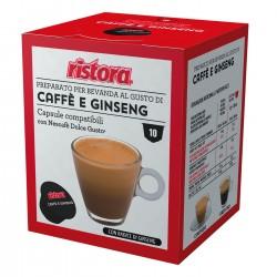 40 CAPSULE DG CAFFÈ E GINSENG RISTORA