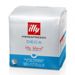108 CAPSULE ILLY IPERESPRESSO DECAFFEINATO
