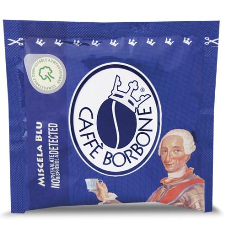 CAPSULE CAFFE' BORBONE MISCELA BLU COMPATIBILE LAVAZZA ESPRESSO POINT