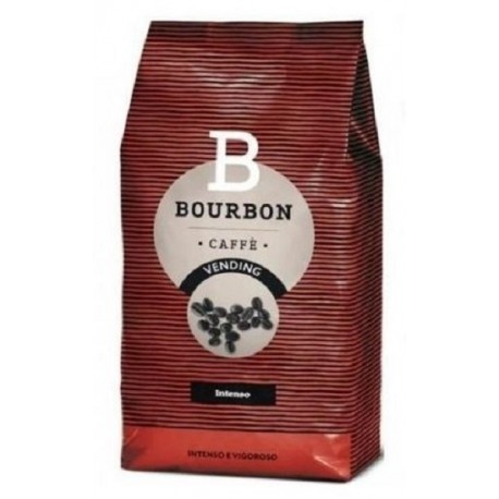 CAFFE LAVAZZA IN GRANI MISCELA BOURBON INTENSO VENDING