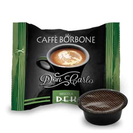 Capsule Caffè Borbone Don Carlo Dek compatibili Lavazza A Modo Mio