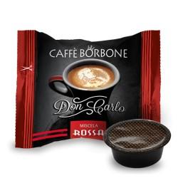Capsule Caffè Borbone Don Carlo RED compatibili A Modo Mio