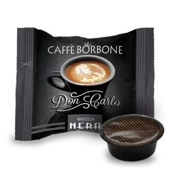 CAPSULE CAFFE' BORBONE DON CARLO NERA