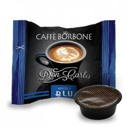 100 CAPSULE CAFFE' BORBONE DON CARLO BLU