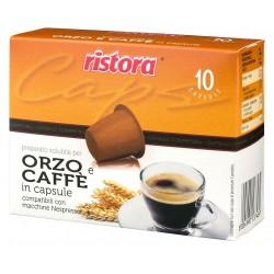 CAPSULE ORZO E CAFFÈ COMPATIBILI