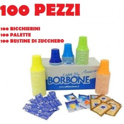 100 ACCESSORI CAFFE' BORBONE - ORIGINALI