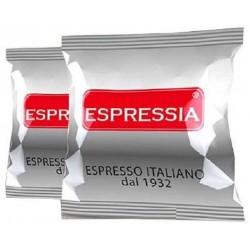 CAPSULE CAFFE' ESPRESSIA MISCELA SILVER