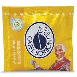 CIALDE CAFFè BORBONE MISCELA ORO ESE (44mm) IN CARTA FILTRO
