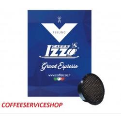 100 CAPSULE CAFFE' IZZO GRAND ESPRESSO BIALETTI