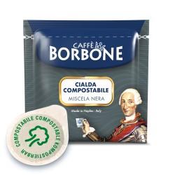 CIALDE CAFFE' BORBONE MISCELA NERA ESE (44mm) IN CARTA FILTRO