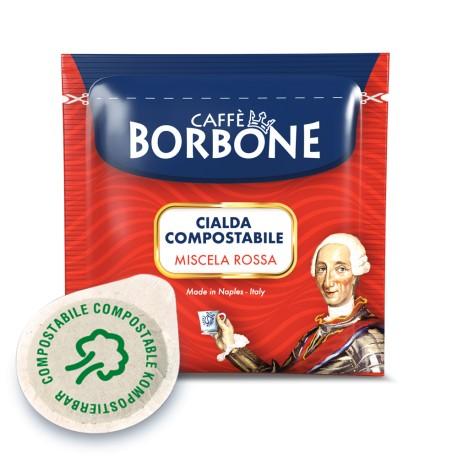 CIALDE CAFFE' BORBONE MISCELA RED ESE 44 MM IN CARTA FILTRO