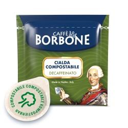 CIALDE CAFFE' BORBONE MISCELA DEK ESE (44mm) IN CARTA FILTRO