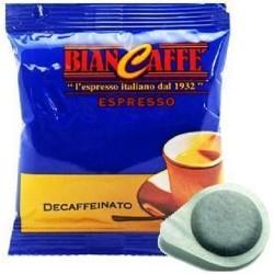 150 CIALDE IN CARTA FILTRO CAFFE' BIANCAFFE' ESE -DEK- (44 mm)