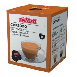 10 CAPSULE DG CAFFÈ CORTADO RISTORA
